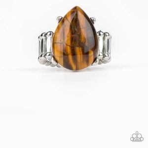 """""""Marbled Stone"""" Ring"""